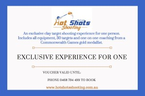 Exclusive Experience for 1 clay shooting