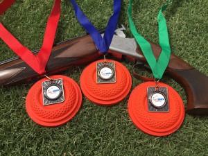 Hot Shots Shooting medals.