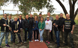 clay target shooting corporate day