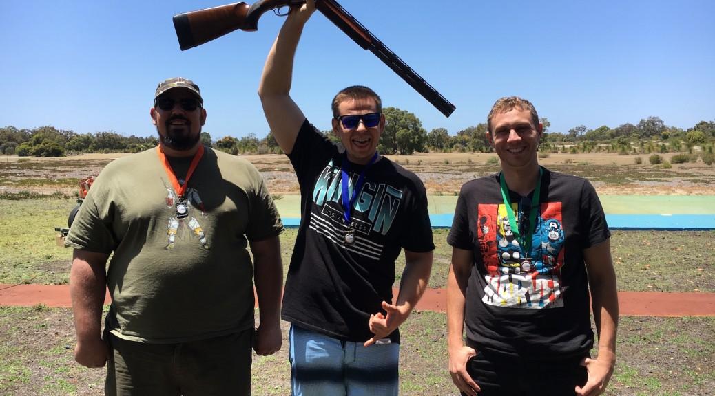 Perth clay target shooting