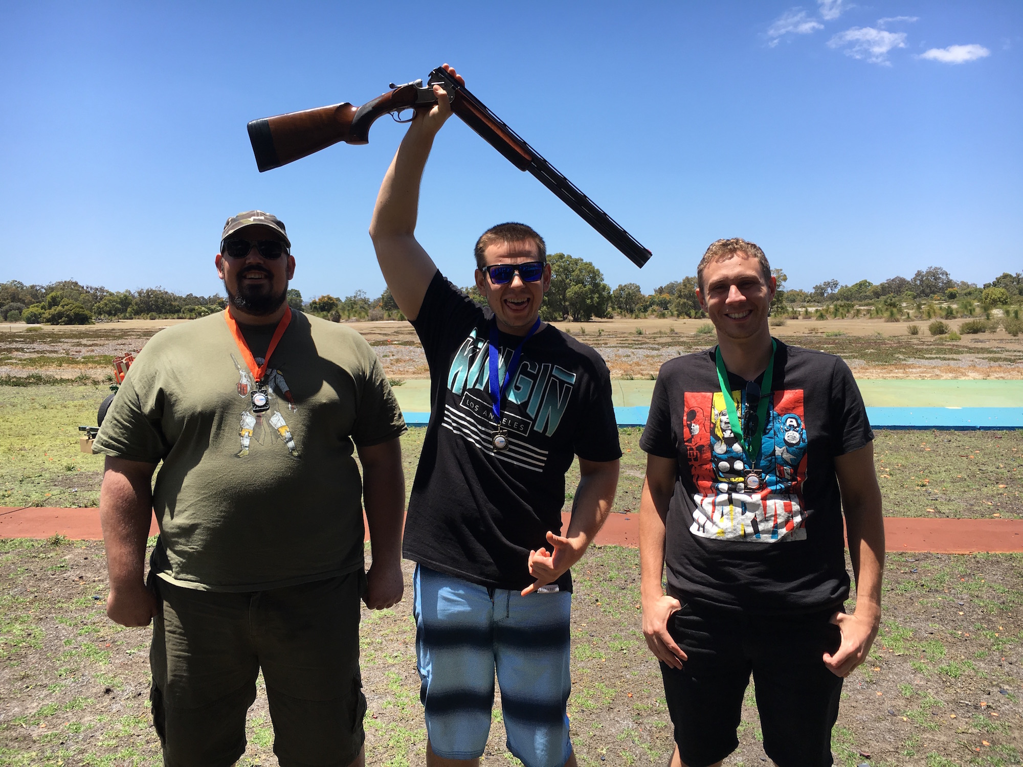 Perth clay target shooting