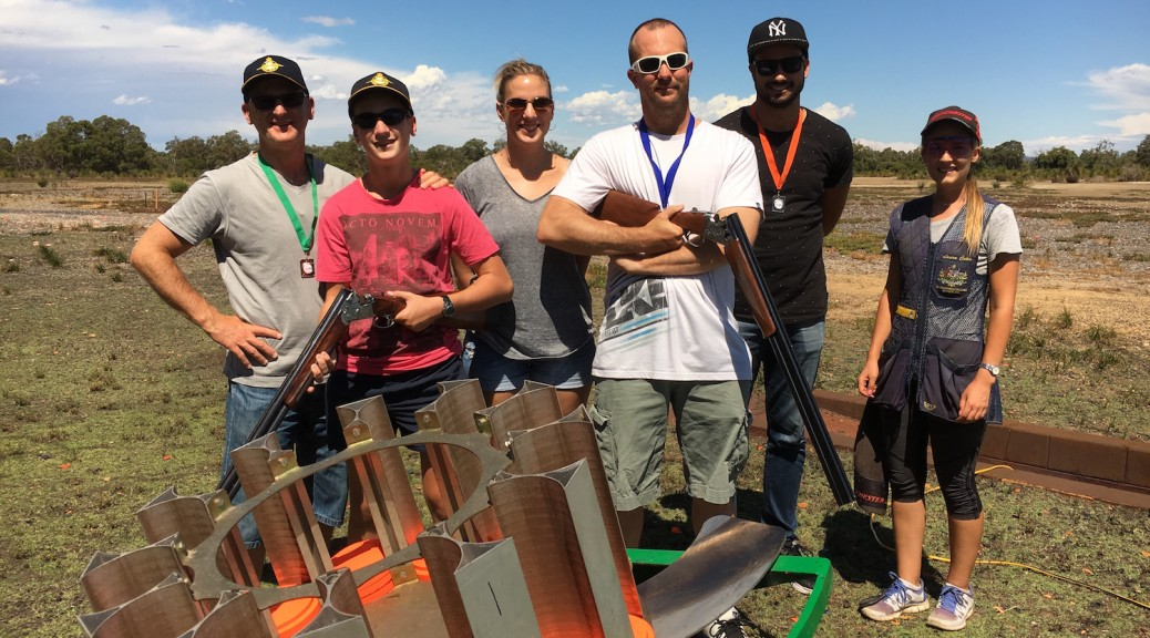 clay target shooting group session